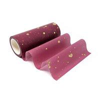 Altenew - Washi Tape - Wide - Gold Splatter Cosmic Berry