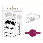 Altenew - Die and Clear Acrylic Stamp Set - Magnolia