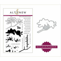 Altenew - Die and Clear Photopolymer Stamp Set - Build A Flower - Magnolia