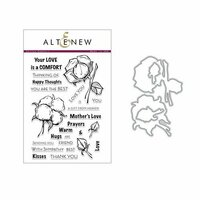 Altenew - Die and Clear Acrylic Stamp Set - Cotton Comfort