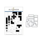 Altenew - Die and Clear Acrylic Stamp Set - Building Blocks