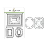 Altenew - Die and Clear Acrylic Stamp Set - Framed