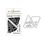 Altenew - Christmas - Die and Clear Acrylic Stamp Set - Night Before Christmas