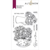 Altenew - Clear Photopolymer Stamps - Paint A Flower - Chamomile