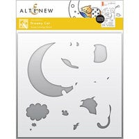 Altenew - Simple Coloring Stencil - Dreamy Cat