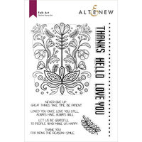 Altenew - Clear Photopolymer Stamps - Folk Art