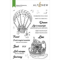 Altenew - Clear Photopolymer Stamps - Magical Memories