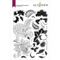 Altenew - Clear Photopolymer Stamps - Scalloped Ornaments