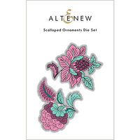 Altenew - Dies - Scalloped Ornaments