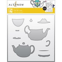 Altenew - Simple Coloring Stencil - Tea for Two