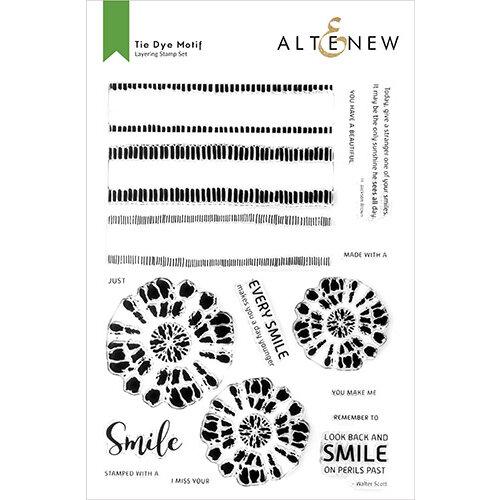 Altenew - Clear Photopolymer Stamps - Tie Dye Motifs