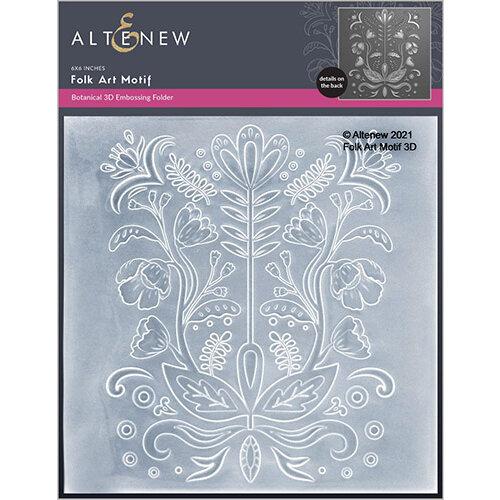 Altenew - Embossing Folder - 3D - Folk Art Motif