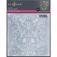 Altenew - Embossing Folder - 3D - Folk Art Motif
