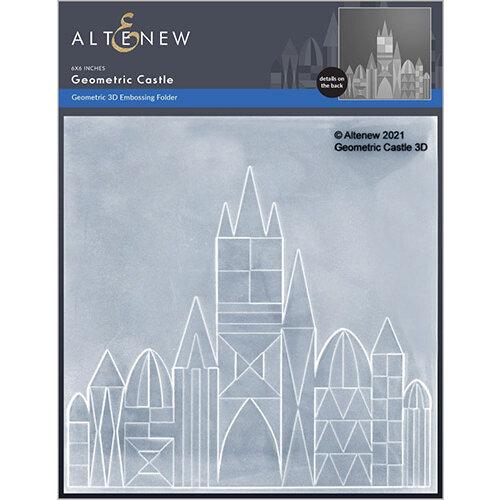 Altenew - Embossing Folder - 3D - Geometric Castle