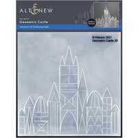 Altenew - Embossing Folder - 3D - Geometric Castle