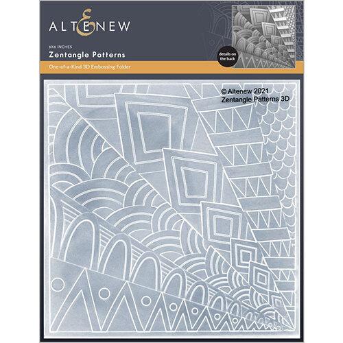 Altenew - Embossing Folder - 3D - Zentangle Patterns