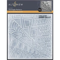 Altenew - Embossing Folder - 3D - Zentangle Patterns