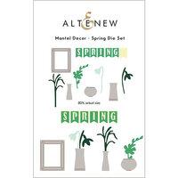 Altenew - Dies - Mantel Decor - Spring