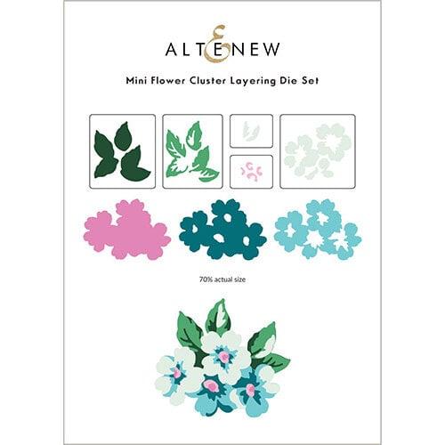 Altenew - Layering Dies - Mini Flower Cluster