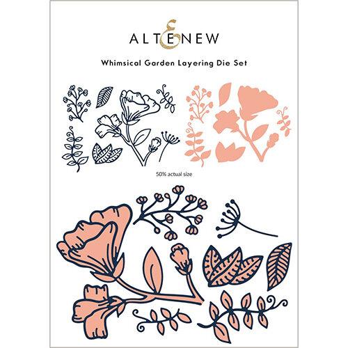 Altenew - Layering Dies - Whimsical Garden
