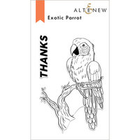 Altenew - Clear Photopolymer Stamps - Exotic Parrot
