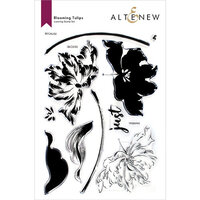 Altenew - Clear Photopolymer Stamps - Blooming Tulips
