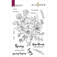 Altenew - Clear Photopolymer Stamps - Simply Spring