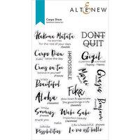 Altenew - Clear Photopolymer Stamps - Carpe Diem
