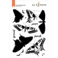 Altenew - Clear Photopolymer Stamps - Dovetail Butterflies