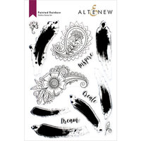 Altenew - Clear Photopolymer Stamps - Painted Rainbow
