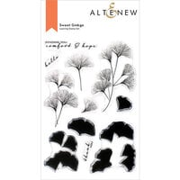 Altenew - Clear Photopolymer Stamps - Sweet Ginkgo