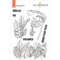 Altenew - Clear Photopolymer Stamps - Tropical Jungle