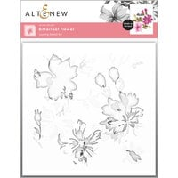 Altenew - Layering Stencil - 3 in 1 Set - Bitterroot Flower