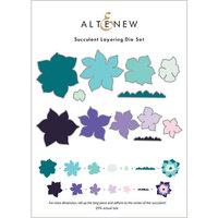 Altenew - Layering Dies - Succulent