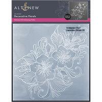 Altenew - Embossing Folder - 3D - Decorative Florals