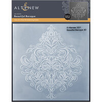Altenew - Embossing Folder - 3D - Beautiful Baroque