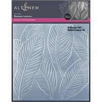 Altenew - Embossing Folder - 3D - Banana Leaves