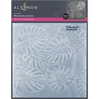 Altenew - Embossing Folder - 3D - Monstera Leaves