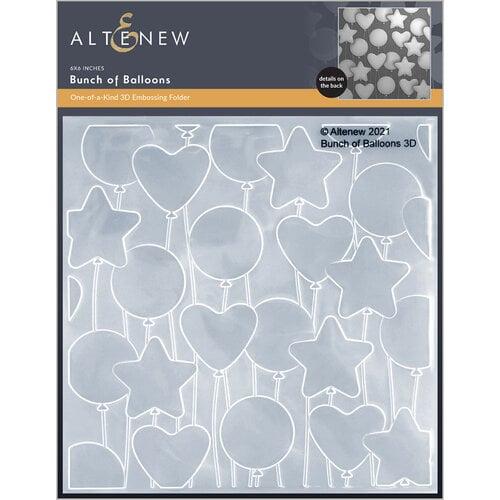 Altenew - Embossing Folder - 3D - Bunch of Balloons