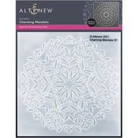 Altenew - Embossing Folder - 3D - Charming Mandala