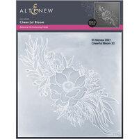 Altenew - Embossing Folder - 3D - Cheerful Bloom