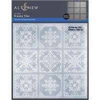 Altenew - Embossing Folder - 3D - Dreamy Tiles