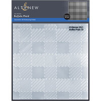 Altenew - Embossing Folder - 3D - Buffalo Plaid