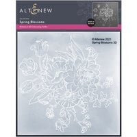 Altenew - Embossing Folder - 3D - Spring Blooms