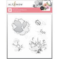 Altenew - Layering Stencil - 3 in 1 Set - Greenwood Flowers