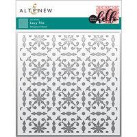 Altenew - Stencil - Lacy Tile