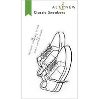 Altenew - Clear Photopolymer Stamps - Classic Sneakers