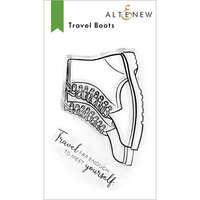 Altenew - Clear Photopolymer Stamps - Travel Boots