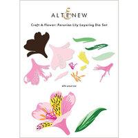 Altenew - Layering Dies - Craft A Flower - Peruvian Lily