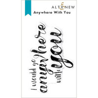 Altenew - Clear Photopolymer Stamps - Anywhere With You